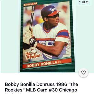 Dunruss Bobby Bonilla OF Rookie card 30